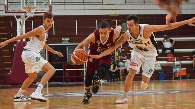 Estudiantes de Concordia derrotó por 77-73 a Lanús.