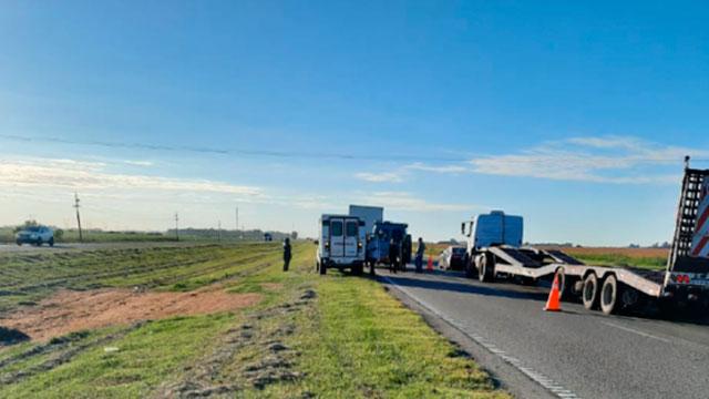 El piloto paranaense tuvo un accidente en Ruta 9. (Crédito: El Informante)