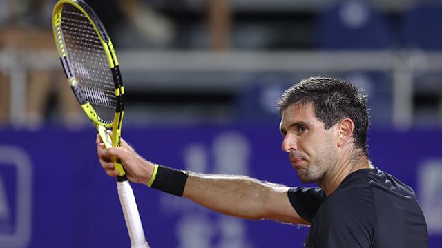 Sólida victoria de Delbonis en su debut en el Córdoba Open.