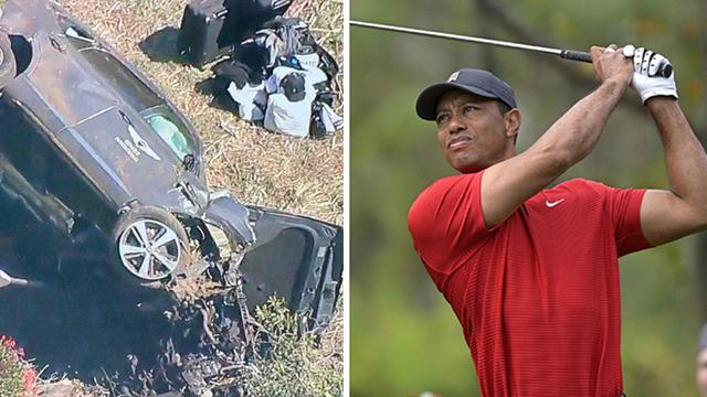 Tiger Woods se recupera tras ser operado luego de su grave accidente automovilístico