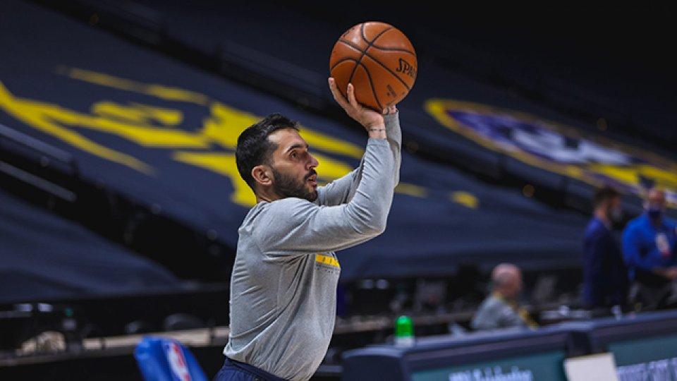 Campazzo disfruta de su primeros pasos en la NBA.