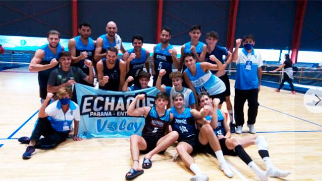 Echagüe ganó sin jugar y va por el puesto 9. (Foto: AEC)