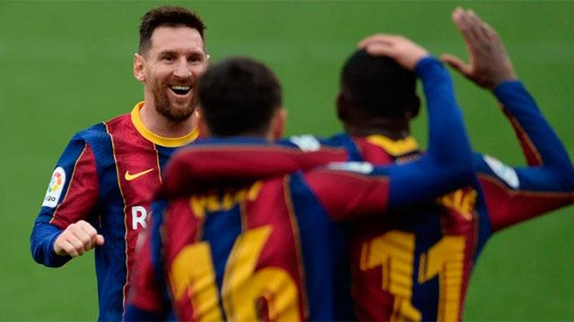 Messi volvió a brillar: Un gol y una gran asistencia para el triunfo de Barcelona