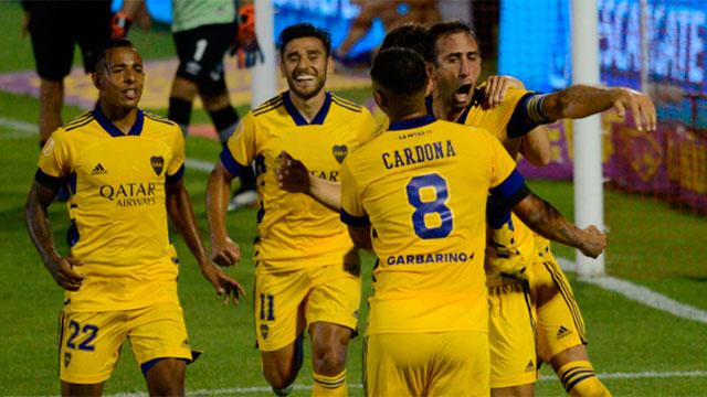 Sin Carlos Tevez, Boca enfrenta a Sarmiento de Junín en la Bombonera