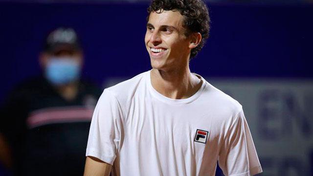 El argentino Juan Manuel Cerúndolo es finalista del Córdoba Open.