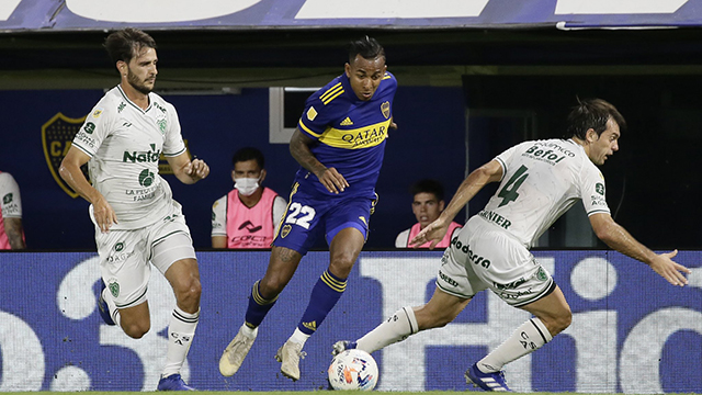Liga Profesional: Boca y Sarmiento empatan 0 a 0 en la Bombonera