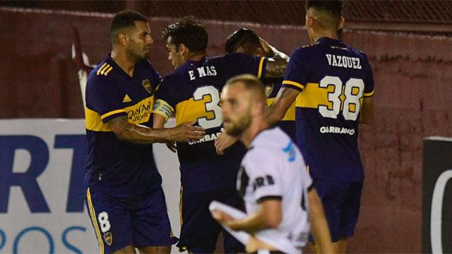 Boca sufre, pero derrota a Claypole y avanza en la Copa Argentina