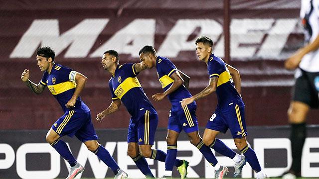 Boca sufrió demasiado, pero derrotó a Claypole y avanzó en la Copa Argentina