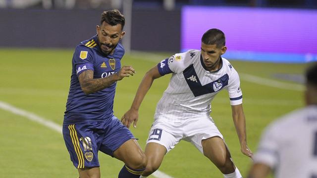 Tevez regresó con gol y Boca a plasta a Vélez por 5 a 1 en Liniers