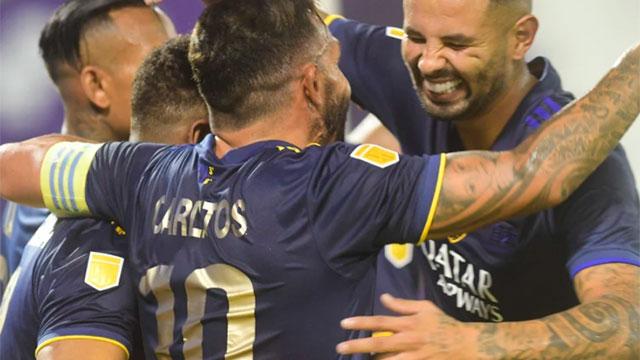 Boca aplastó como visitante por 7 a 1 a Vélez y llega entonado al Superclásico