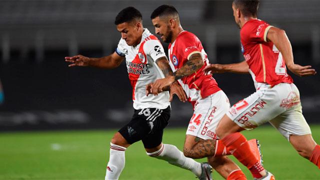 Copa de la Liga: River iguala sin goles ante Argentinos en el Monumental