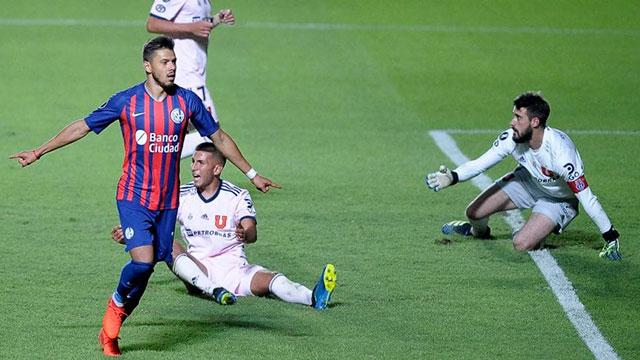 San Lorenzo eliminó a Universidad de Chile y ahora enfrentará a Santos.
