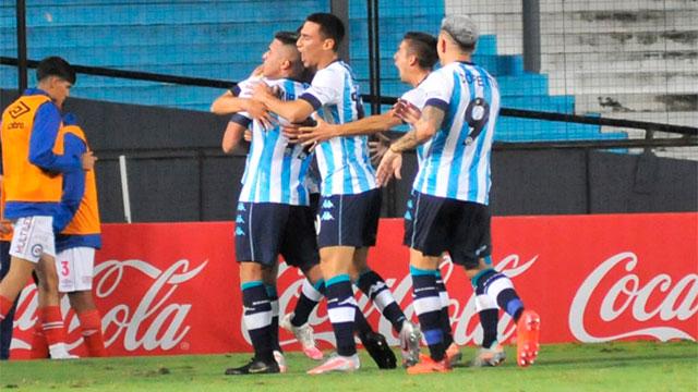 Racing enfrenta a San Martín de San Juan por la Copa Argentina