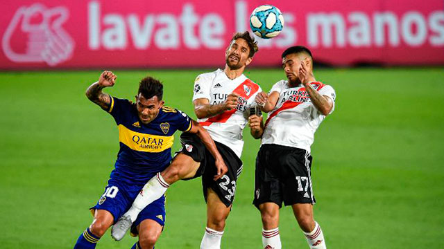 Boca-River, a un paso de cruzarse por Copa Argentina.