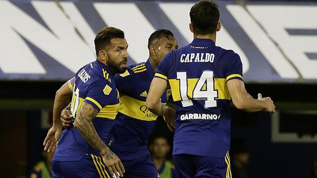 Boca arrancó con todo y supera por 2 a 0 a Atlético Tucumán en La Bombonera