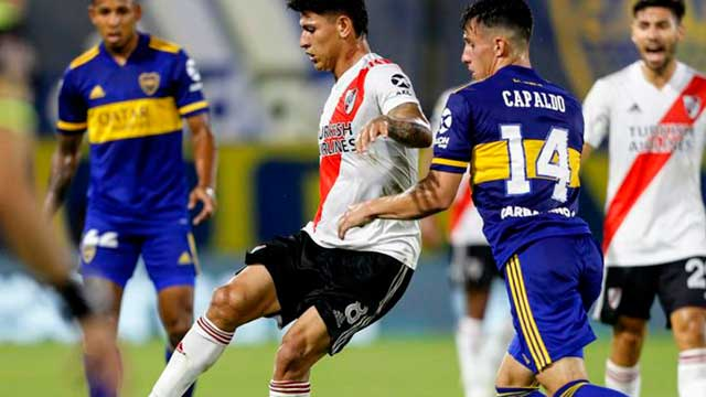 El Boca-River de Copa Argentina quedará para julio o agosto.