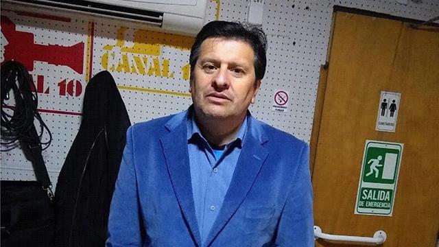 Fernando Spiazzi, presidente de la Liga Departamental de Fútbol de Colón.
