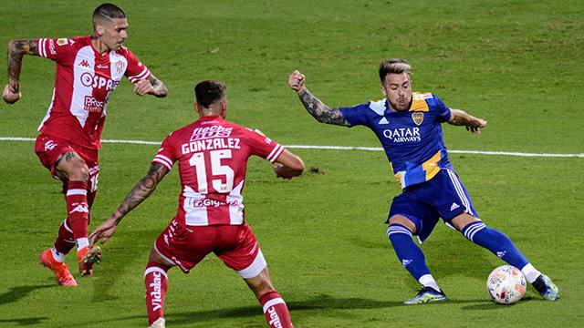 Liga Profesional: En el inicio del complemento, Unión abrió el marcador y vence 1-0 a Boca