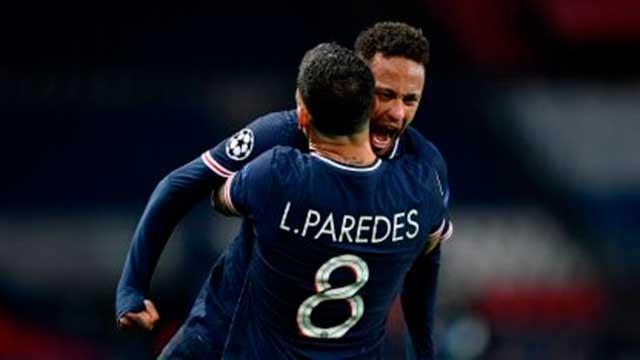 PSG se clasificó a semifinales de la Champions League.