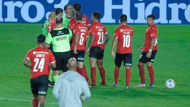 El reclamo de Independiente: pidió a la AFA que anule el penal mal cobrado en el clásico