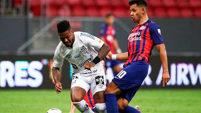 San Lorenzo empató con Santos y se quedó afuera de la Copa Libertadores
