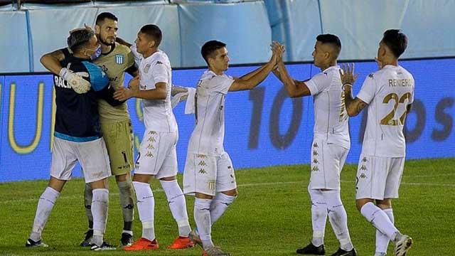 Copa Argentina: Racing venció a San Martín de San Juan por penales y avanzó a octavos