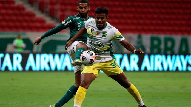 Defensa y Justicia le ganó a Palmeiras por penales y es campeón de la Recopa.