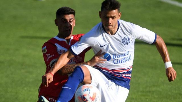 San Lorenzo igualó 1 a 1 en el Nuevo Gasómetro ante Argentinos