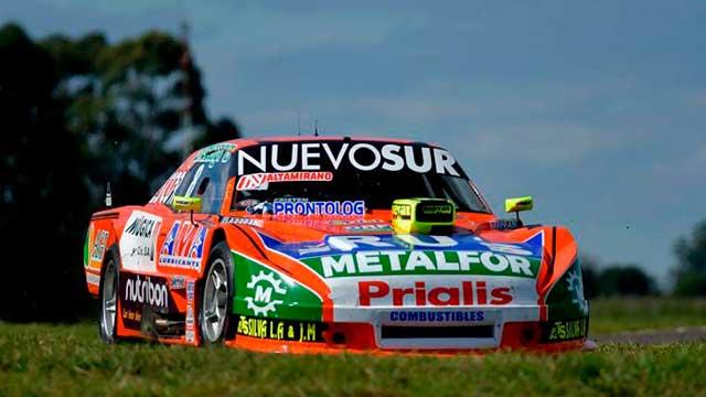 Jonatan Castellano se quedó con la Pole Position en Concepción del Uruguay.