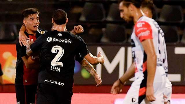 Patronato no logró estirar su racha positiva y perdió por 2 a 0 ante Newell's