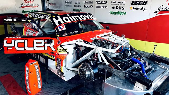 Werner rompió el motor en la serie del TC en Rafaela.
