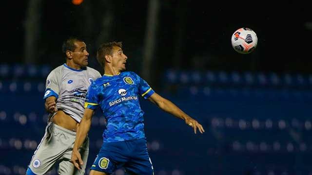 opa Sudamericana: Rosario Central debutó con una derrota en Paraguay.