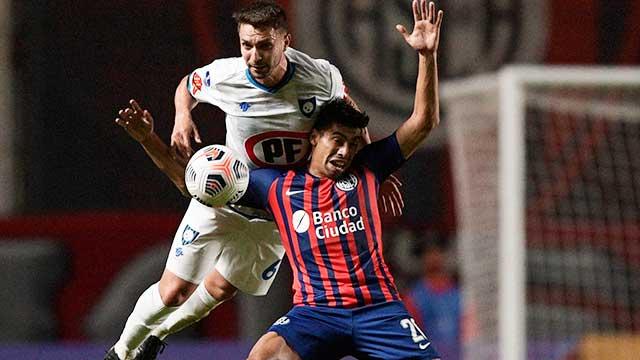 San Lorenzo sufrió una derrota en su debut en la Copa Sudamericana.