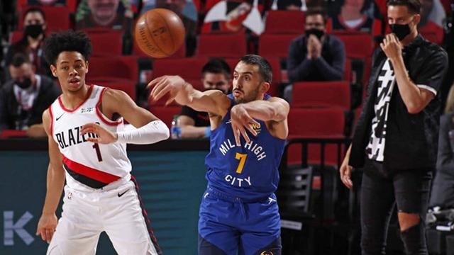 Campazzo jugará sus primeros playoffs en la NBA.