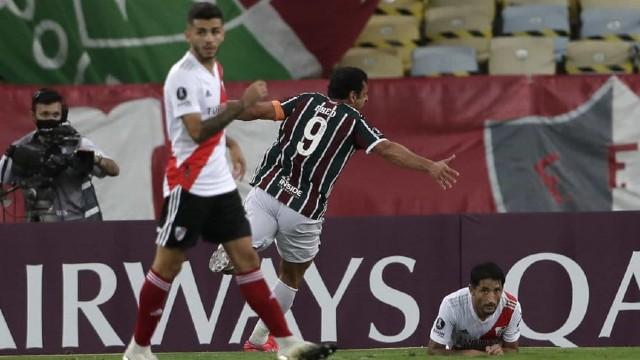 River comenzó en la Libertadores con un empate por 1 a 1 ante Fluminense