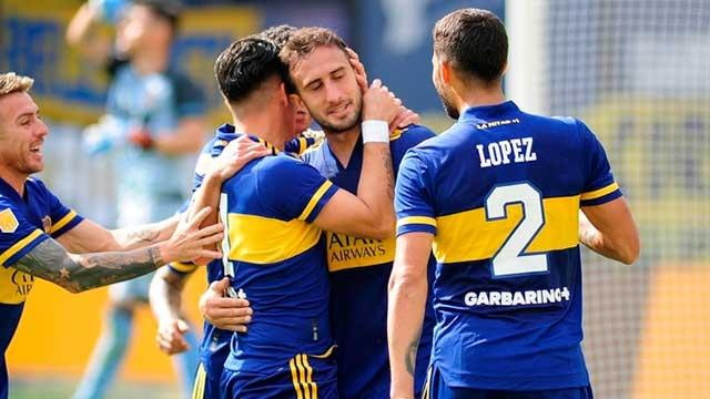 A la espera de los hisopados al plantel, Boca visita a Barcelona de Ecuador.