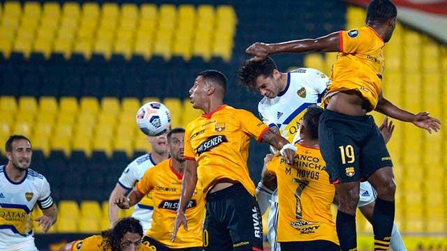 Boca no hizo pie en Guayaquil y cayó 1-0 ante Barcelona.