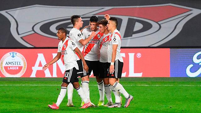 River afronta una incómoda visita a Junior por la Libertadores antes del Superclásico