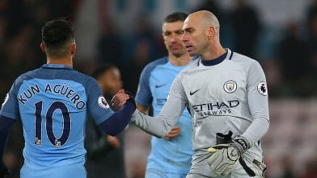 Willy y el Kun e verán las caras en la Final de la Champions League.