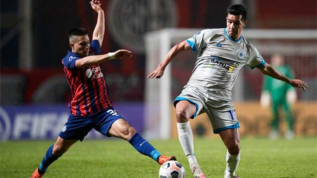 Copa Sudamericana: San Lorenzo igualó con 12 de Octubre y complicó.