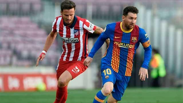 Barcelona no pudo con Atlético de Madrid, que sigue líder y se acerca al título.