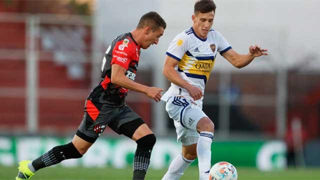 Patronato supera 1-0 a Boca en el Grella con el gol de Lautaro Torres de cabeza