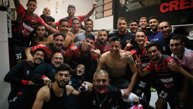 El mensaje del plantel de Patronato tras el histórico triunfo ante Boca en el  Grella