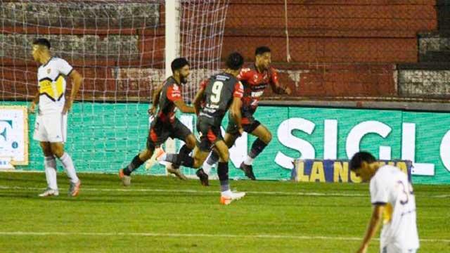 Patrón y una histórica victoria ante Boca en el Grella.