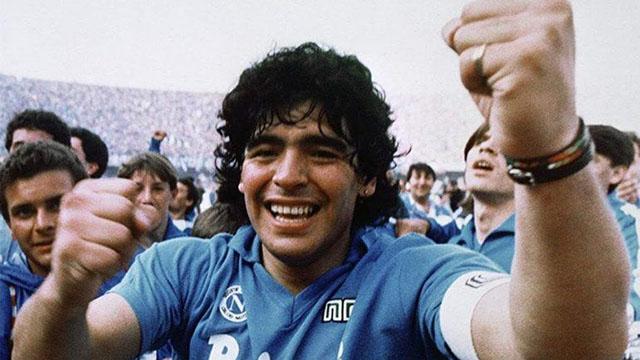 Se cumplen 34 años del primer Scudetto del Napoli de la mano de Diego Maradona
