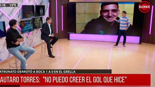 """""""Todavía no caigo"""", dijo Lautaro Torres tras el histórico gol de Patronato ante Boca"""