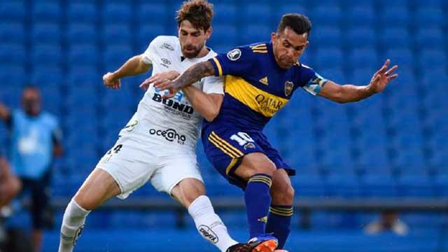 Con la mira puesta en River, Boca visita al Santos por la Copa Libertadores