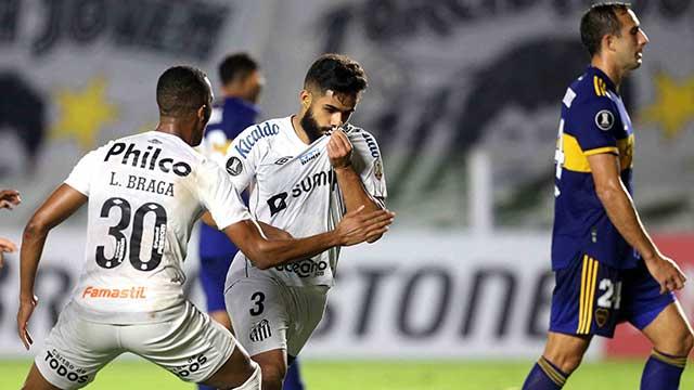 Boca perdió con Santos, quedó tercero y recibió un duro golpe antes de jugar con River
