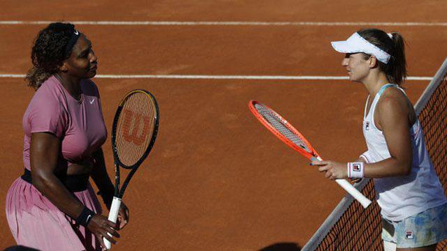 Histórica victoria de Nadia Podoroska ante Serena Williams en el Abierto de Roma