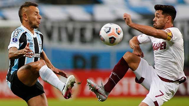 Lanús no pudo con Gremio en Brasil y complicó sus chances en la Sudamericana.